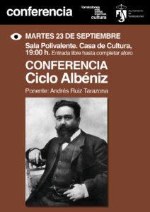CARTEL conferencia ALBENIZ