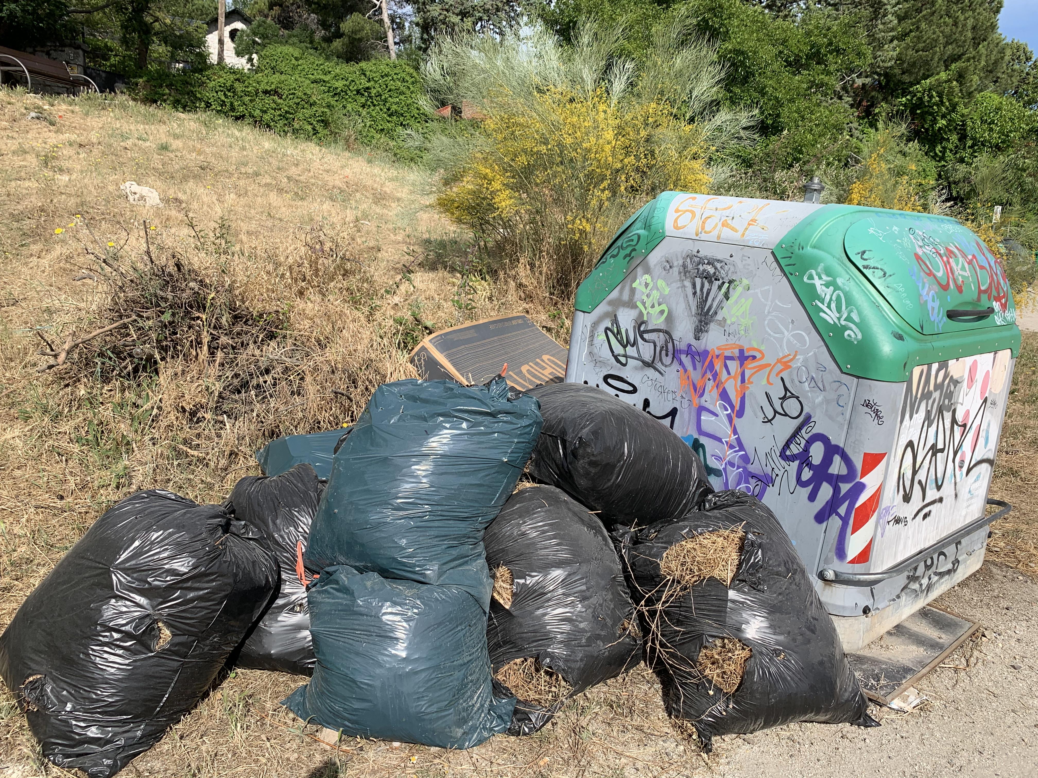 ciudades de basura, basura de ciudades