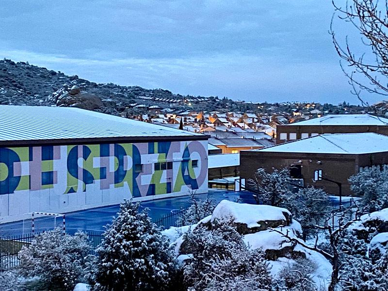 imagen de un colegio en Torrelodones