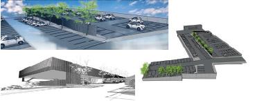 imagen del proyecto de aparcamiento con más de 300 plazas en Torrelodones